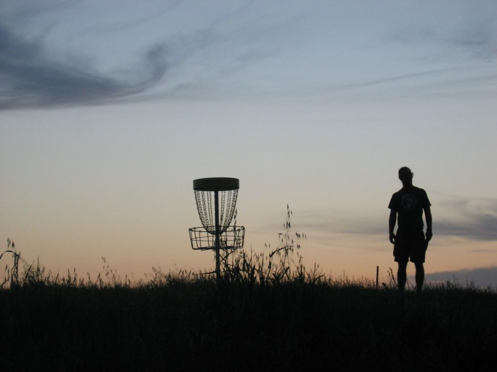 Disc Golf At McLeod Park Kiln Mississippi